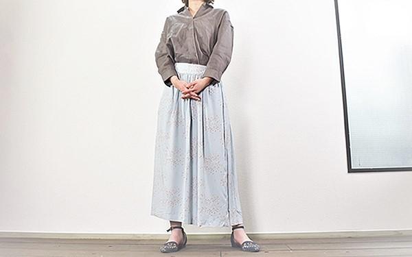 画像: 身長160cm、体重50kgの女性が着用
