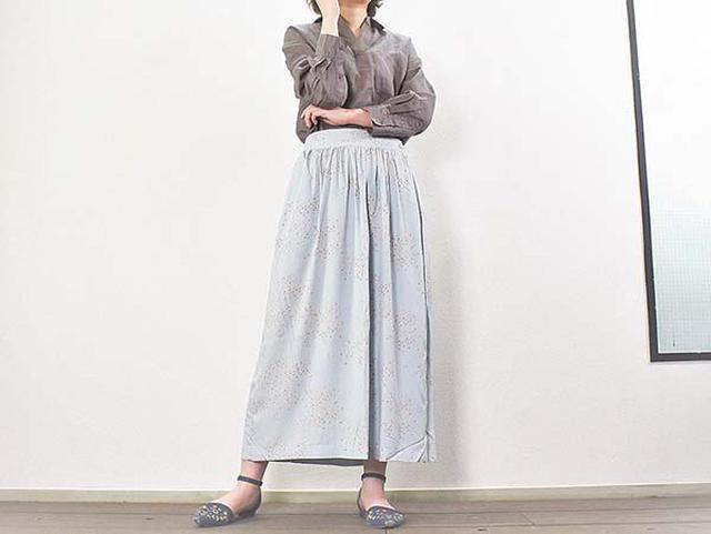 画像: サラッと履ける「レーヨンギャザースカート」