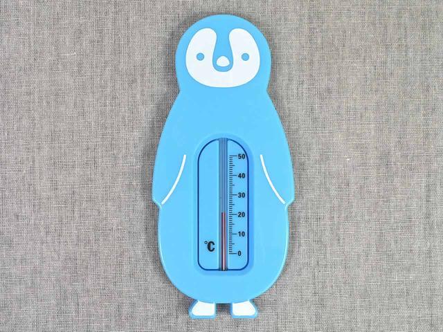 画像: ぷかぷか浮かぶペンギンがかわいい!「お風呂用湯温計」