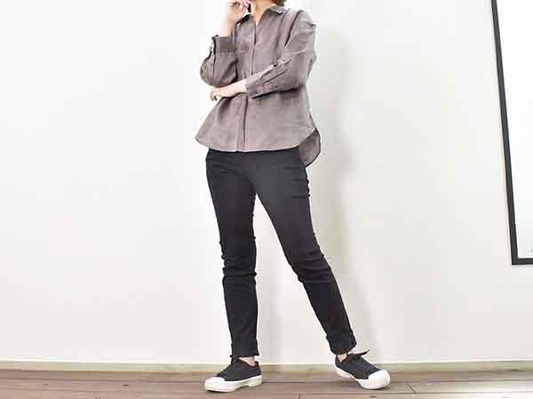 画像: 清涼感たっぷりの「プレミアムリネンスキッパーシャツ(7分袖)」