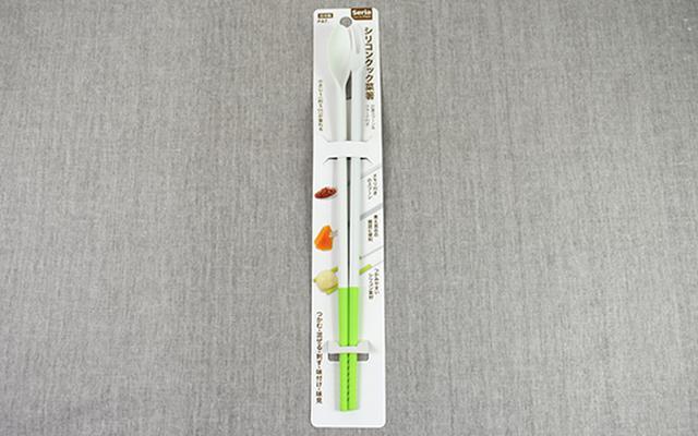 画像: 菜箸、スプーン、フォークが一体化!?