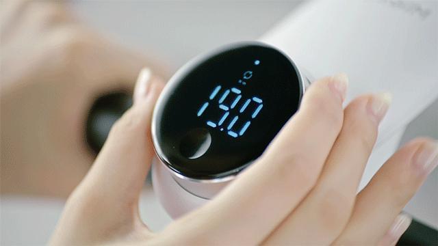 画像: 負荷の調整は0.5ごとに0~40まで80段階。お子さんや年配の方でも分かりやすく、家族全員で使えます。 www.makuake.com