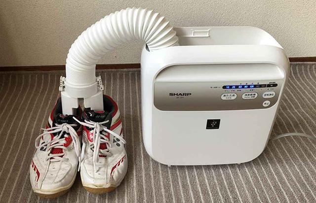 画像: 部活で使い込んだ運動靴も湿気やニオイが飛んですっきり!