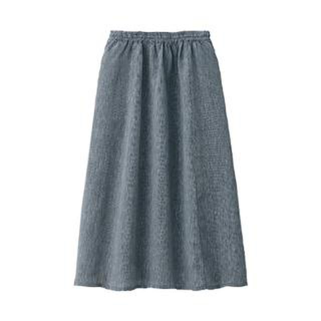 画像: 【無印良品】洗えば洗うほど愛おしい!風通し抜群の夏ボトム「フレンチリネンギャザースカート」購入レビュー