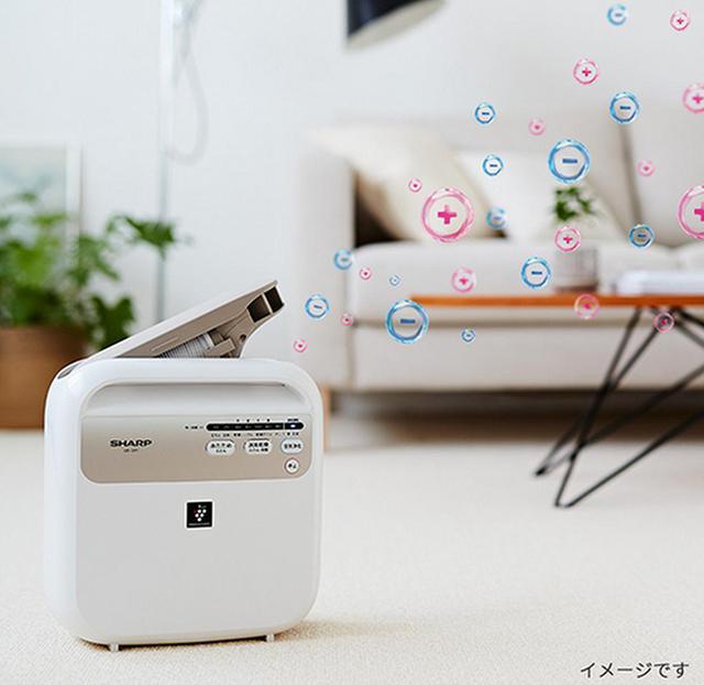 画像: いろんな場面で使えるマルチな布団乾燥機。 jp.sharp