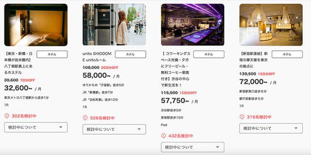 画像: 「unito」の人気物件