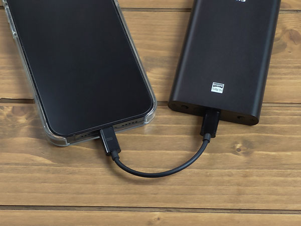 画像: まずはiPhoneとDACを接続。
