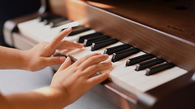 画像: 鍵盤アクション機構を採用しているから、音の強弱も表現可能