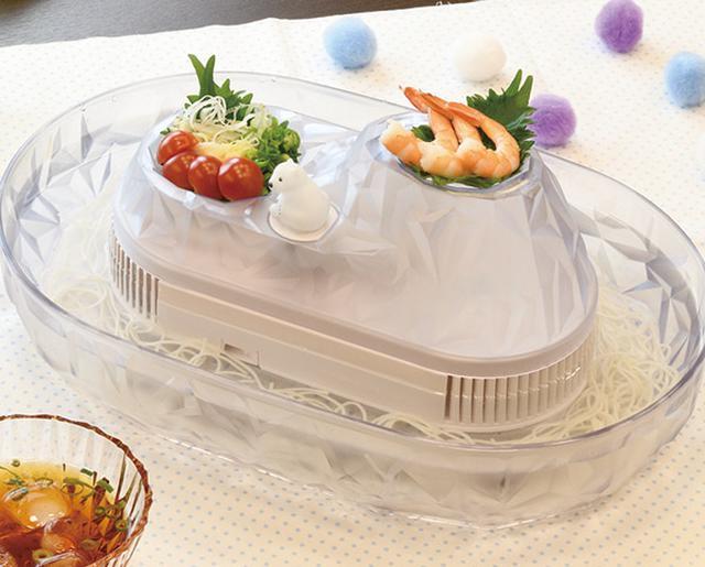 画像: 流氷 しろくまそうめん流し器<M> www.p-life-house.jp