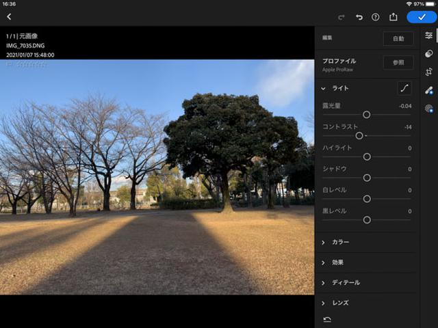 画像: RAW形式の画像をJPEGにする「現像」のプロセスを担う。