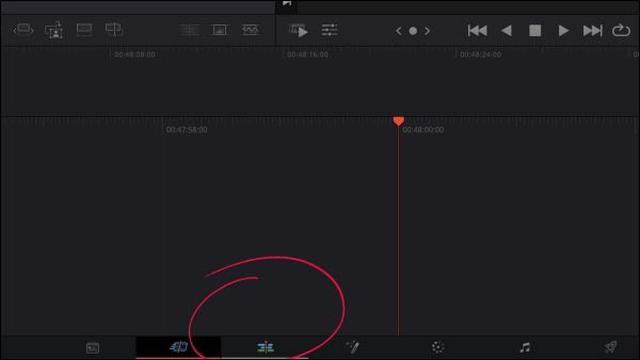 画像: 画面下のバーみたいな部分を、「エディット」に変更