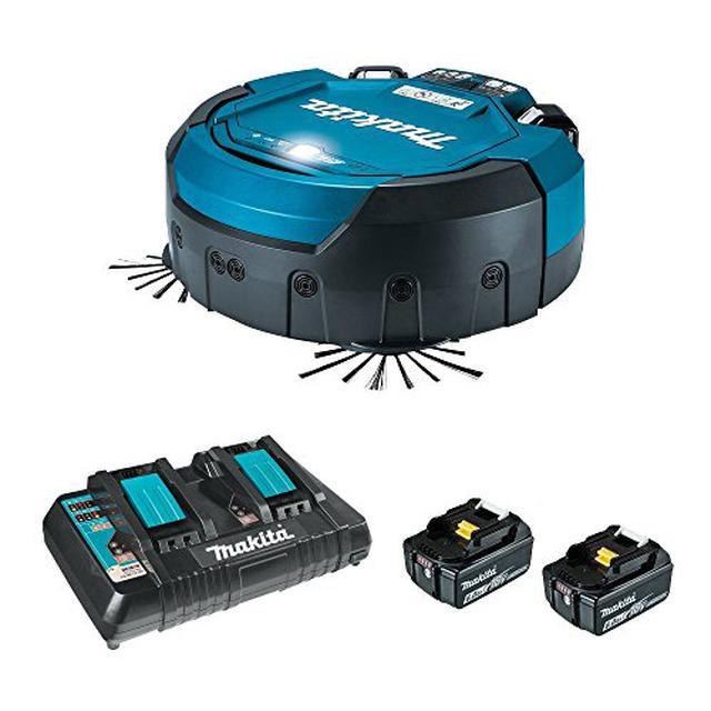 画像3: 【マキタの掃除機】人気の3機種を徹底比較!コードレスからロボットタイプまで バッテリーは交換式と内蔵式どっちがいい?