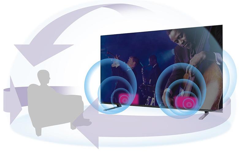 画像: レグザ重低音立体音響システムXP
