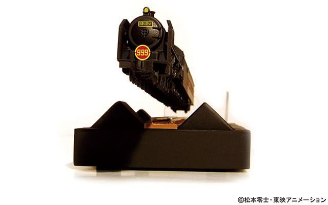 画像: 炭水車マーク、赤地の999ヘッドマークなど、テレビ版を忠実に再現。