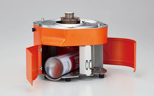 画像: カセットガス1本で、1合炊きが約19回、5合炊きが約8回行える。
