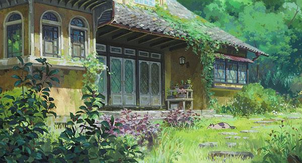 画像: 借りぐらしのアリエッティの庭 www.ghibli.jp