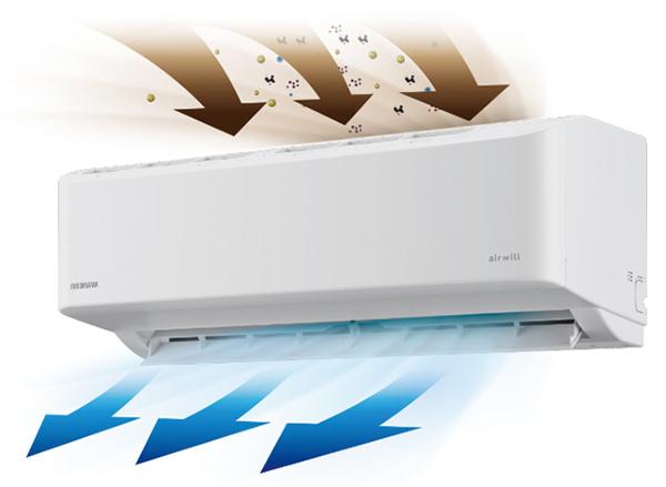 画像2: アイリスオーヤマ airwill 内部清潔エアコン GFシリーズ