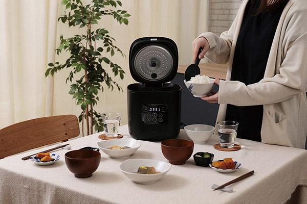 画像2: plus more サラダチキンがつくれる糖質カット炊飯器