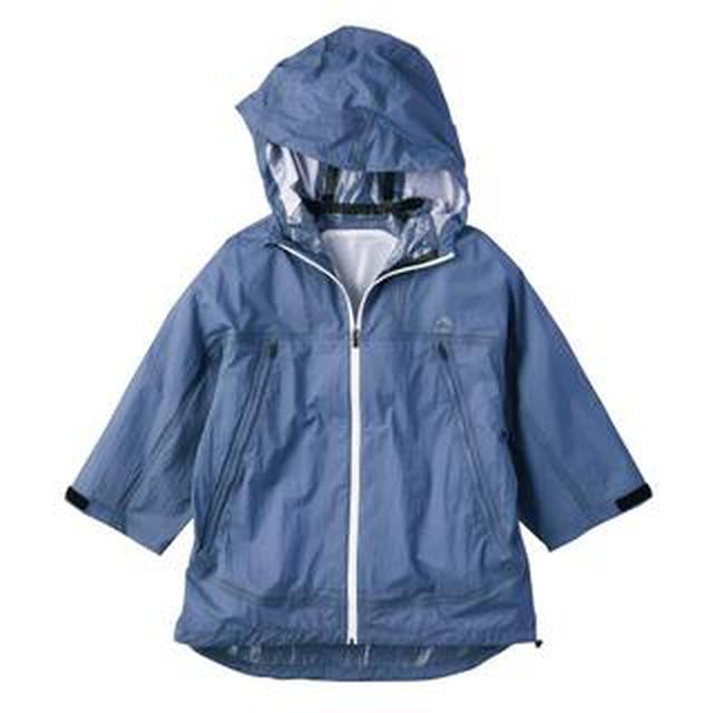 画像: 【ワークマン】雨の日が楽しみになる!七分袖が涼しい「透湿レインパーカーポンチョ」購入レビュー!