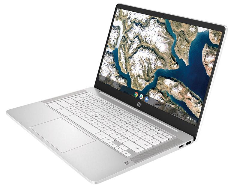 画像: クラムシェルタイプ HP 「Chromebook 14a」