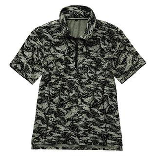 画像: 【ワークマン】初夏にぴったりな「襟が立つ 半袖ハーフジップ」購入レビュー!襟に技アリでスタイリッシュに着こなせる