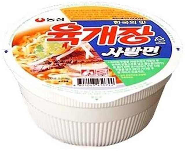 画像: ユッケジャンサバル麺(カップ麺) www.amazon.co.jp