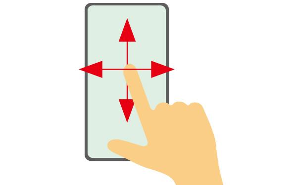 画像5: 【スマホ操作】フリックとは?スワイプとは?覚えておきたい7つのタッチ操作