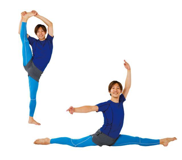 画像: バレエの動きを取り入れたストレッチ