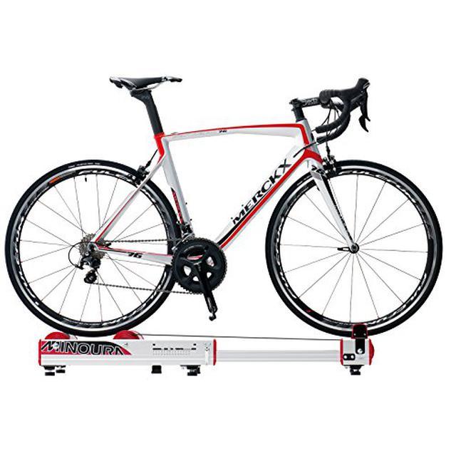 画像2: 【ZWIFTの始め方】スマートトレーナーと連携した室内自転車トレーニング 振動対策には防音マットがおすすめ