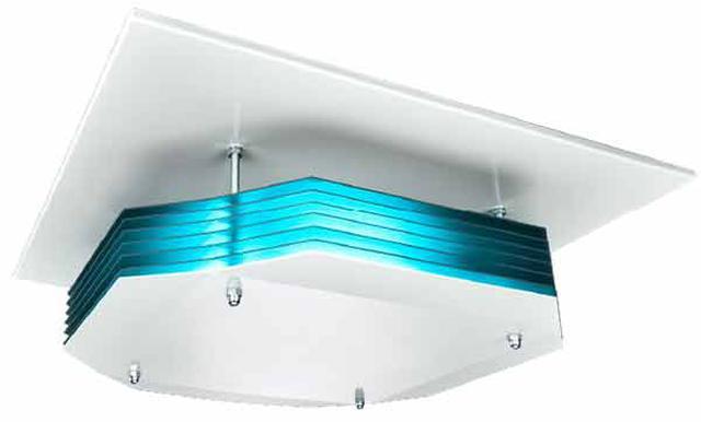 画像: UV-C 上層空気除菌器 天井取付タイプ www.irisohyama.co.jp