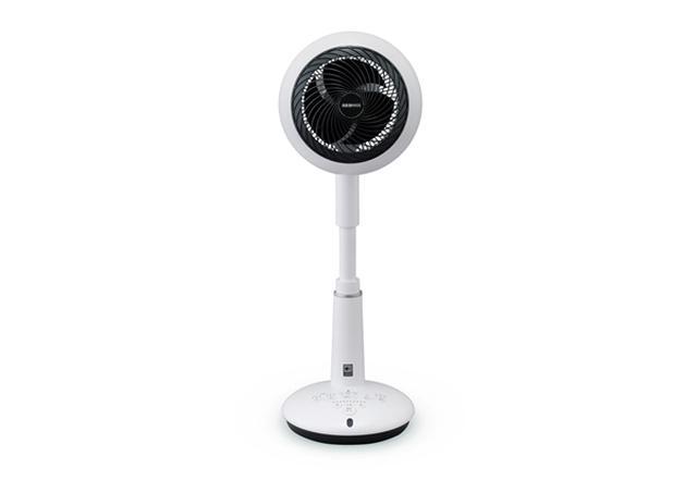 画像: サーキュレーター扇風機 音声操作 ~24畳KSF-DCV151Tホワイト www.irisohyama.co.jp