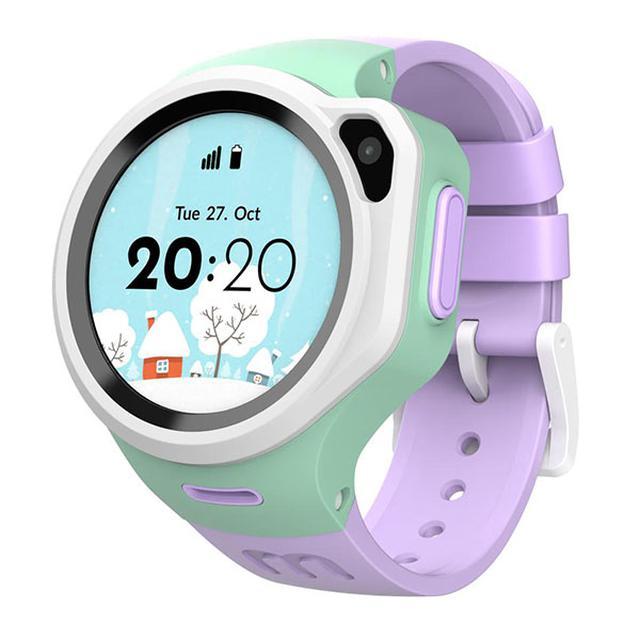 画像: 腕時計型のmy First Fone R1 画面は液晶タッチパネルになっていて、指で操作する jp.oaxis.com
