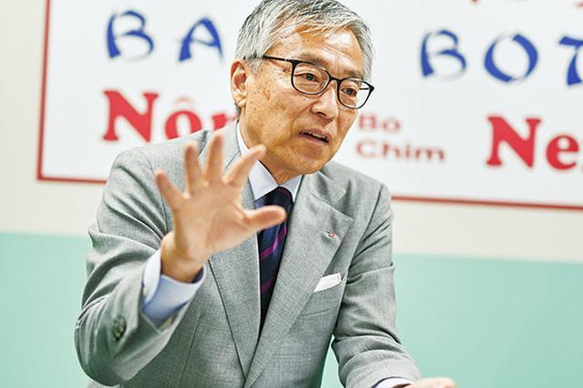 画像: ダイナック代表取締役社長の田中政明氏。サントリーグループの外食事業のプロパーとして事業を推進する。