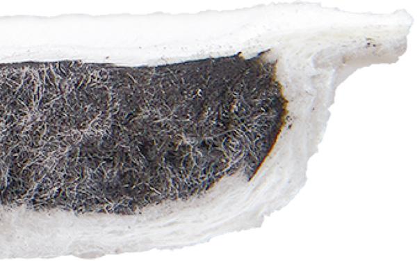 画像: 立体構造のろ過フィルターで、揚げた油の嫌なニオイと汚れをキャッチする。