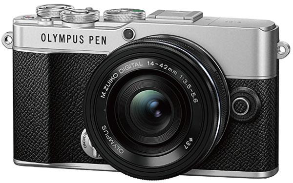 画像: OLYMPUS PEN E-P7(ブラック)