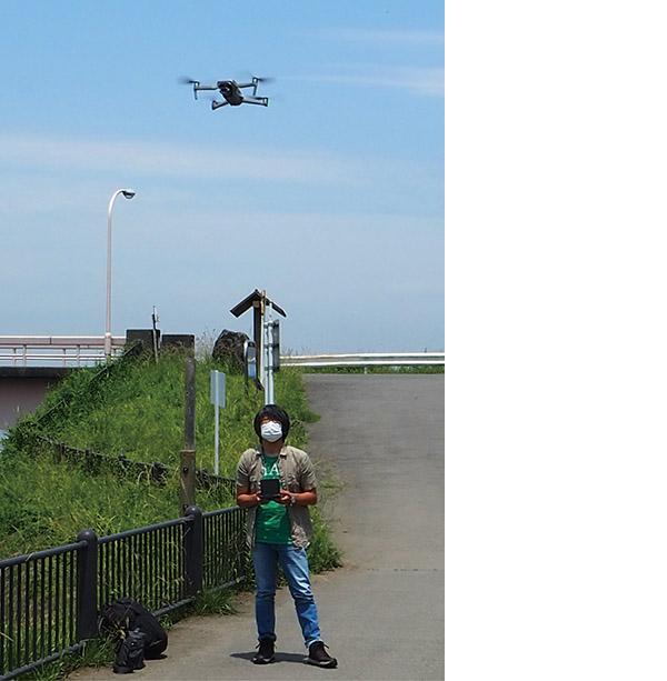 画像2: 飛行操作 1 まずは自分の近くで飛行させて、徐々に飛行範囲を広げていこう