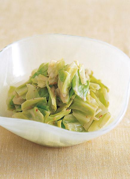 画像: マヨネーズと豆板醬のソースがクセになるおいしさ キャベツのピリ辛マヨあえ