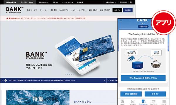 画像: BANK(あおぞら銀行)