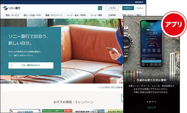 画像: ソニー銀行