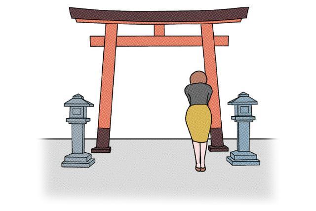 画像1: 参拝の手順