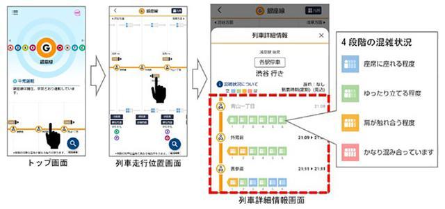 画像2: 東京メトロmy!アプリ