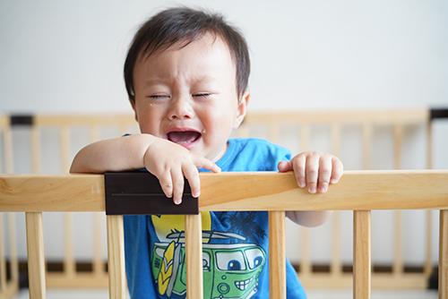 画像: 息子が編み出した脱出法「ギャン泣き」。