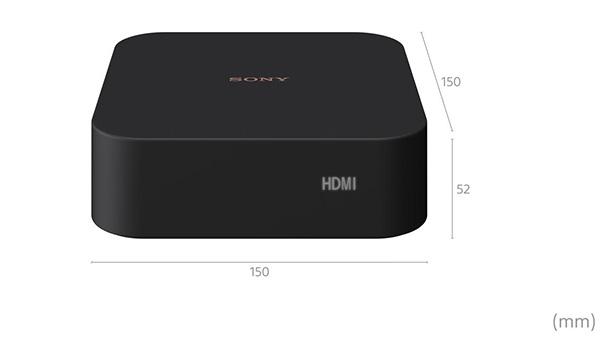 画像: HT-A9のコントロールボックス。横幅15cmとコンパクトで邪魔にならないサイズだ。