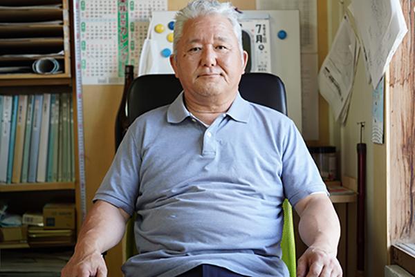 画像: 「株式会社 道産木」 の代表取締役である松岡正文さん。