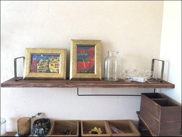 画像: 木版と棚受けさえあれば、棚は作れます