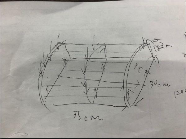 画像: まずは設計図を作成していきます