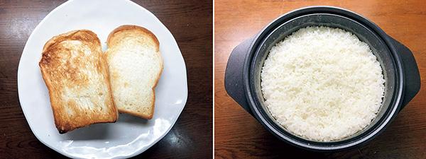 画像: トーストとご飯は、いずれもハイレベルな仕上がり。オートモードに対応し、失敗なく使える。