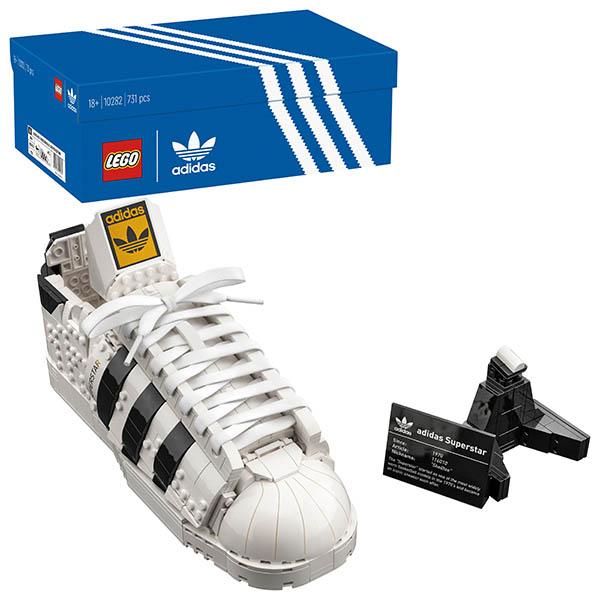 画像: アディダス オリジナルスとレゴブロックによる衝撃のコラボ。ストリートカルチャーの象徴・スーパースターを組み立てる!