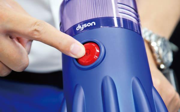 画像: 握力に自信のない人に朗報。スイッチはトリガーではなくボタン式♪