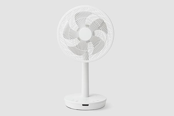 画像: DC音声操作サーキュレーター扇風機「ポチ扇」 www.siroca.co.jp